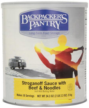 Backpackers Pantry - #10 Can Beef Stroganoff - Sender Gear Canada