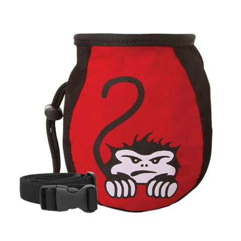 Mad Rock Kids Chalk Bag  - Crouching Monkey - Sender Gear Canada
