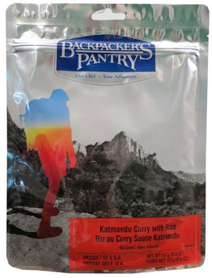 Backpackers Pantry - 6 pack -Katmandu Curry - Sender Gear Canada