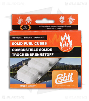 Solid Fuel Cubes -Esbit