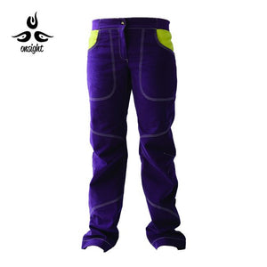 Onsight Women's - Purple / Yellow Pants - Omsight
