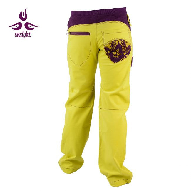 Onsight Women's - Yellow (green) / Purple Pants - Omsight