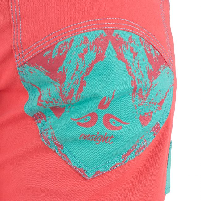 Onsight Women's - Coral  / Blue Pants - Omsight