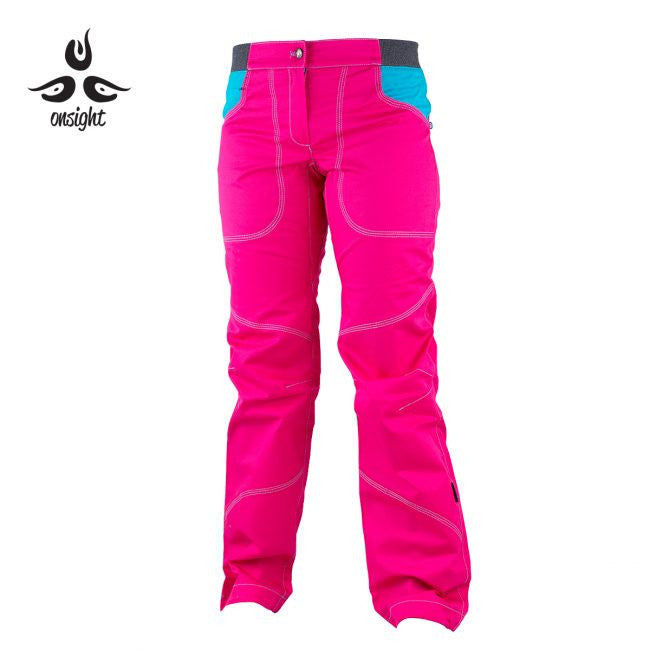 Onsight Women's - Pink  / Blue Pants - Omsight
