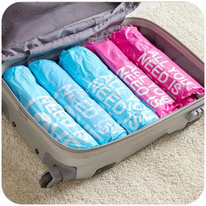 Travel Roll Up Compression Vacuum Storage Bags