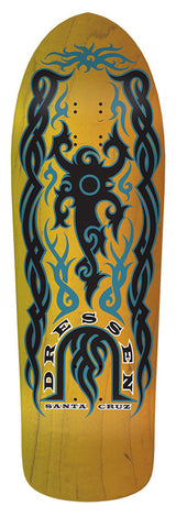 Dressen Tribal Stained Yel/Org Skateboard Santacruz