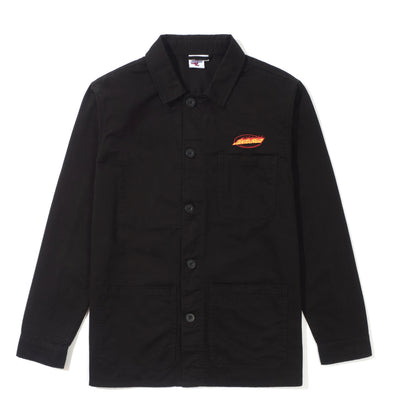 FLAMING OVAL DOT OVERSHIRT