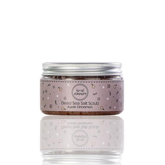 Apple Cinnamon Dead Sea Salt Scrub - Joviality-eg