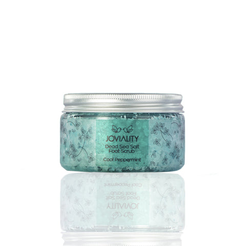Dead Sea Salt Foot Scrub - Cool Peppermint - Joviality-eg