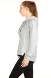 icyzone Hoodies for Women - Workout Athletic Sweatshirts Exercise Long Sleeve Pullover with Kangaroo Pocket
