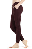 icyzone Athletic Joggers for Women - Lightweight Exercise Outdoor Lounge Pants with Pockets