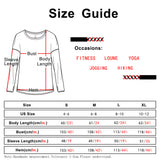 icyzone Workout Shirts for Women - Athletic Pullover Running Tops Casual Long Sleeve T Shirts with Thumb Holes