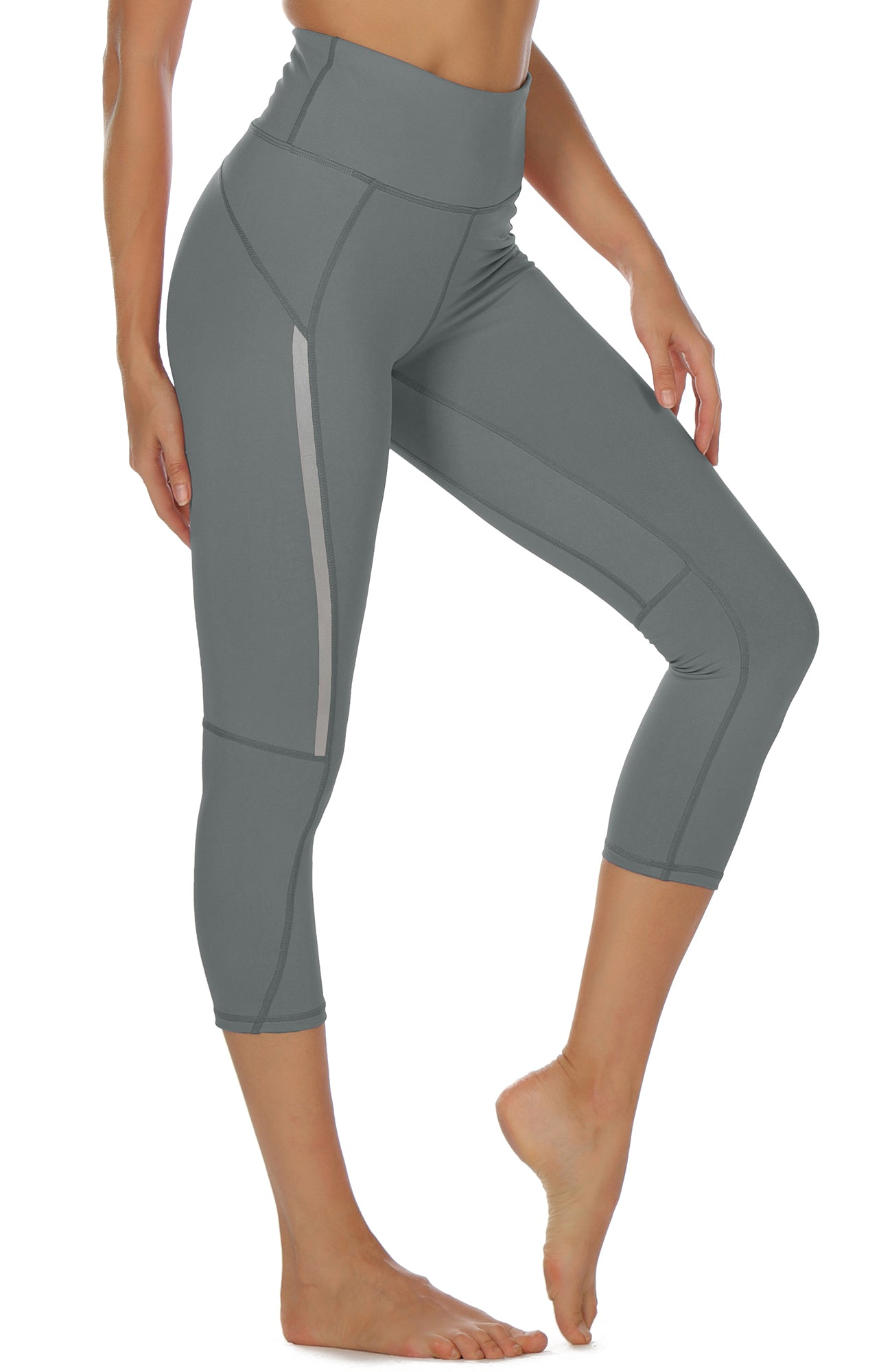 Icyzone Capri Yoga Pants For Women High Waisted Workout Athletic Gym E Icyzonesports