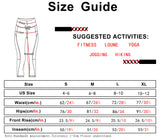 icyzone Capri Yoga Pants for Women High Waisted Workout Athletic Gym Exercise Running Leggings
