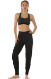 icyzone Workout Yoga Pants for Women - Women's Activewear Exercise Athletic Leggings Full Length Active Joggers