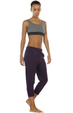 icyzone Lightweight Joggers Pants for Women - Athletic Workout Running Training Woven Capri Pants with Pockets