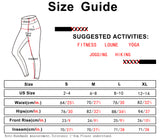 icyzone Workout Leggings for Women - Athletic Yoga Pants Exercise Gym Running Tights