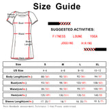 icyzone T-Shirt Dresses for Women - Short Sleeve Tunic Mini Dress with Pockets
