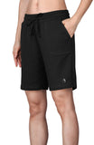 icyzone Athletic Running Yoga Shorts for Women - Women's Workout Active Lounge Bermuda Shorts with Pockets