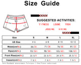 icyzone Athletic Shorts Built-in Brief - Women's Workout Gym Exercise Running Yoga Shorts