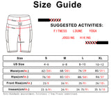 icyzone Athletic Shorts for Women - High Waist Workout Running Yoga Exercise Gym Shorts with Pockets