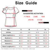 icyzone Workout Shirts for Women - Tie Back Yoga Tops Gym Clothes Running Exercise Athletic T-Shirts