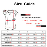 icyzone Performance Women's Activewear Running Yoga Short Sleeve Tee