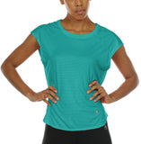 icyzone Yoga Tops Activewear Raglan Workout Tank Tops Fitness Sleeveless Shirts for Women