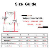 icyzone Yoga Tops Activewear Workout Clothes - Sports Racerback Tank Tops for Women