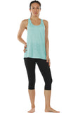 icyzone Workout Tank Shirts Women - Athletic Exercise Yoga Gym Tops, Womens Muscle Tank