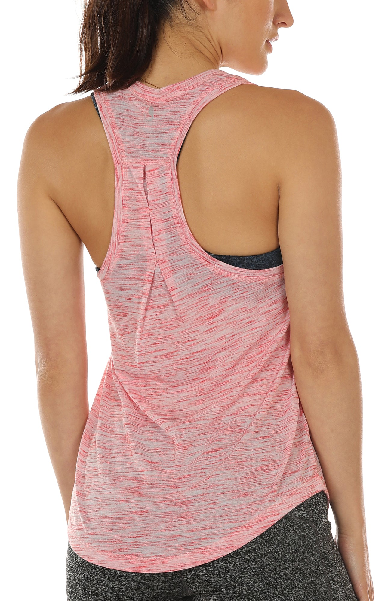 pretty nice 9cbb8 f157d icyzone Workout Tank Tops for Women - Athletic Yoga Tops, Racerback ...