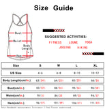 icyzone Workout Tank Tops for Women - Athletic Exercise Strappy Tanks, Yoga Tops, Gym Shirts (Pack of 2)