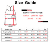 icyzone Workout Tank Tops for Women - Athletic Exercise Yoga Tops Open Back Strappy Running Shirts