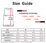 icyzone Workout Tank Tops for Women - Running Exercise Muscle Tank Sports Gym Yoga Tops Athletic Shirts
