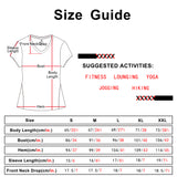 icyzone Workout Shirts Yoga Tops Activewear V-Neck T-Shirts Women Running Fitness Sports Short Sleeve Tees
