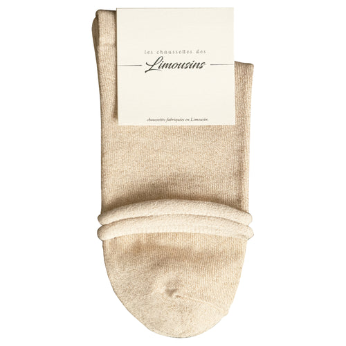 Chaussette Unie Brillante - Or - 36/41 - LIM009