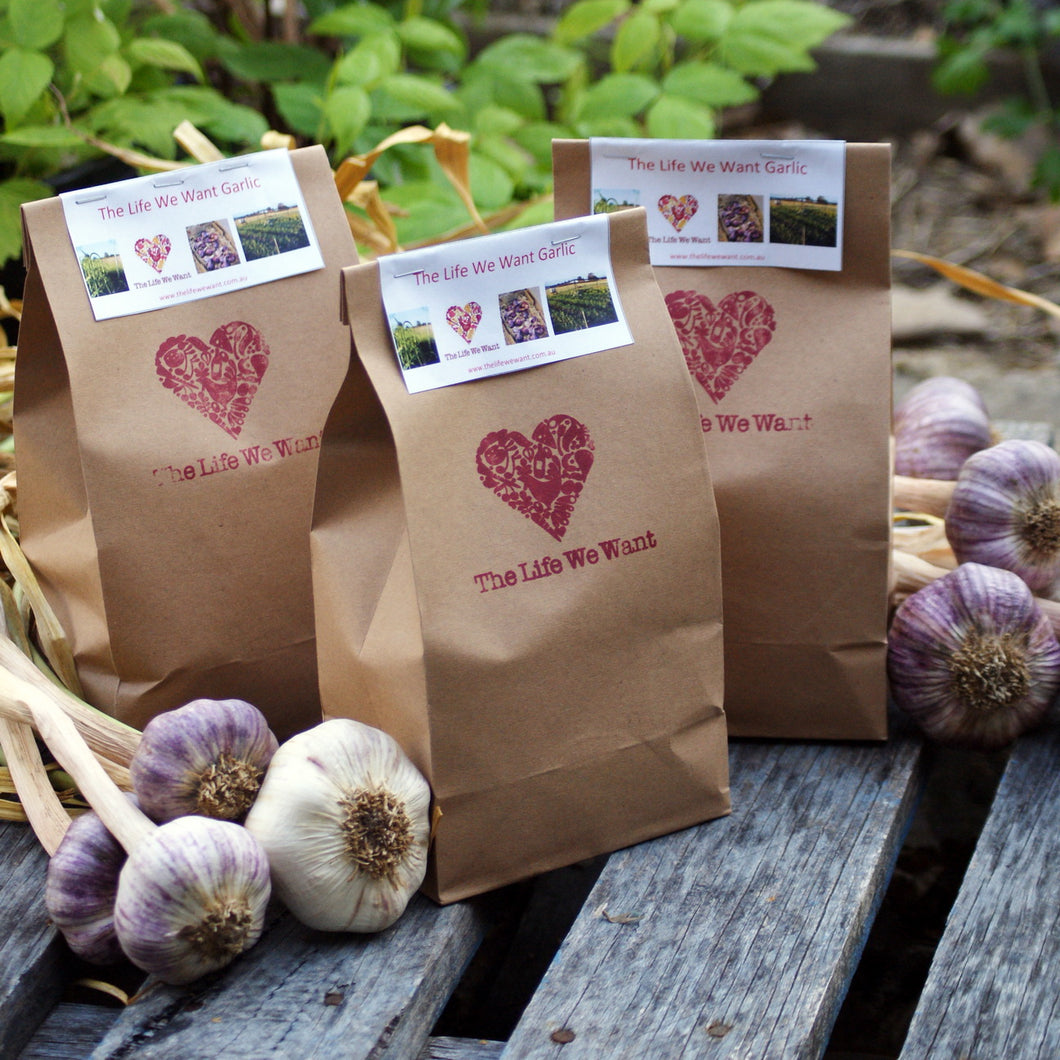 300gram Bag of Garlic - Late Season Varieties