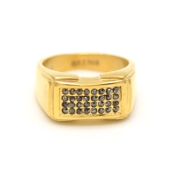Gold Plate Stainless Steel Ring