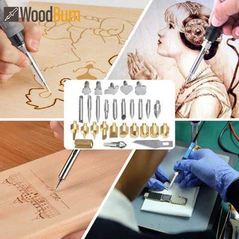 KIT PROFESSIONALE PER INCISIONE COMPOSTO DA 22 PEZZI WOODBURN™