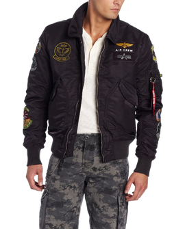 Alpha Industries Men's Cwu Pilot X Flight Jacket