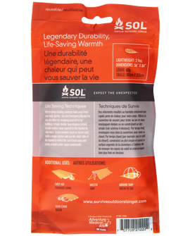 Medical Kits Sol Emergency Blanket