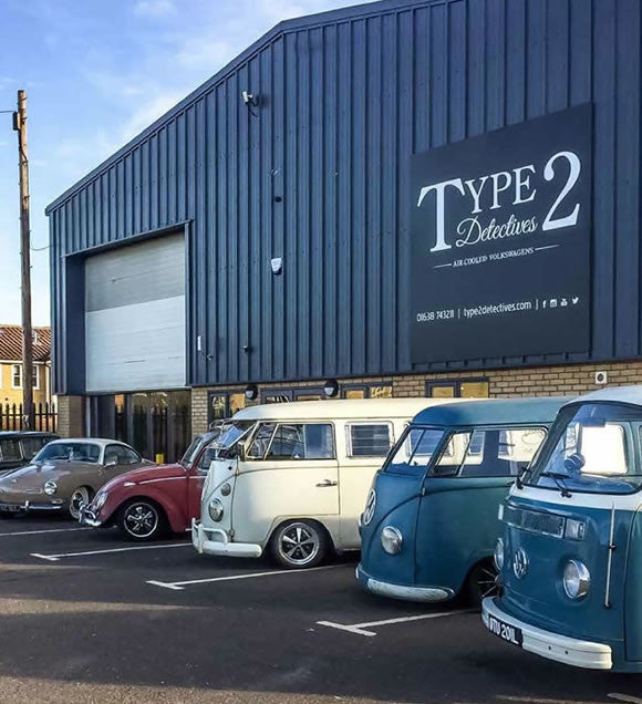 Type 2 Detectives showroom