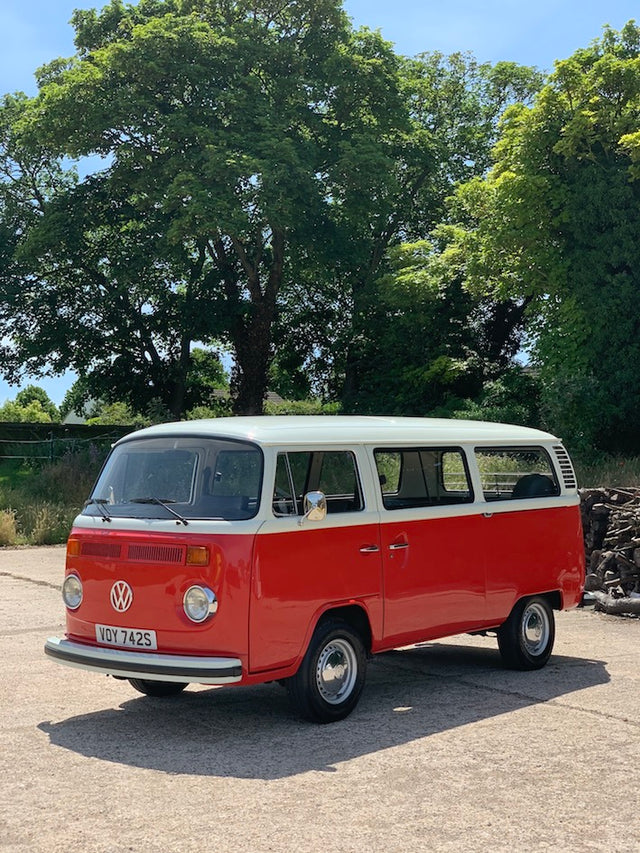 1977 Right Hand Drive Late Bay Microbus