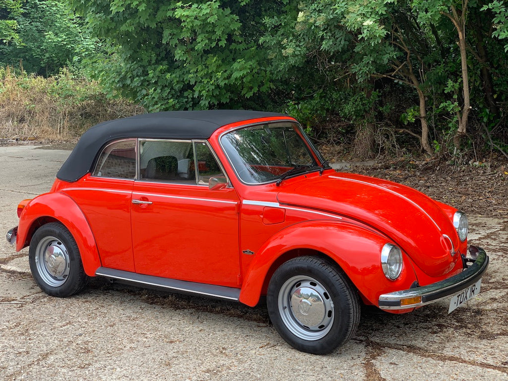 1977 UK Right Hand Drive Karmann Convertible Beetle, 51,000 miles