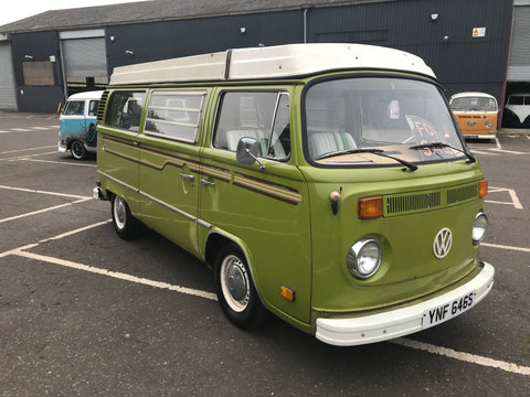 1977 LHD Late Bay Westfalia Camper