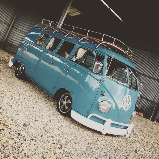 Stunning 1962 11 Window Split Screen Camper Van