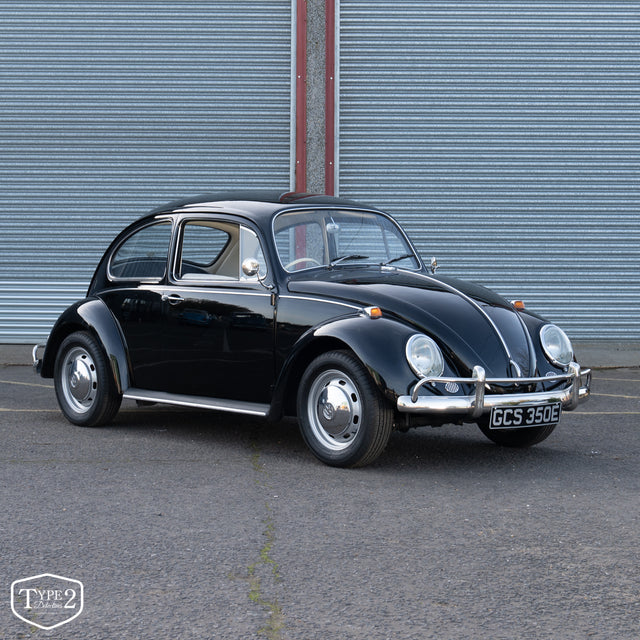 1967 1500cc Black Right Hand Drive Beetle
