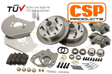 CSP Disc Brake 5x130 Porsche Pattern