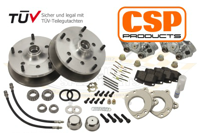 CSP disc brake 5x205 for original steel wheels or aftermarket wheels