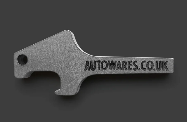 Auto Wares - Church Key Bottle Opener Keyring